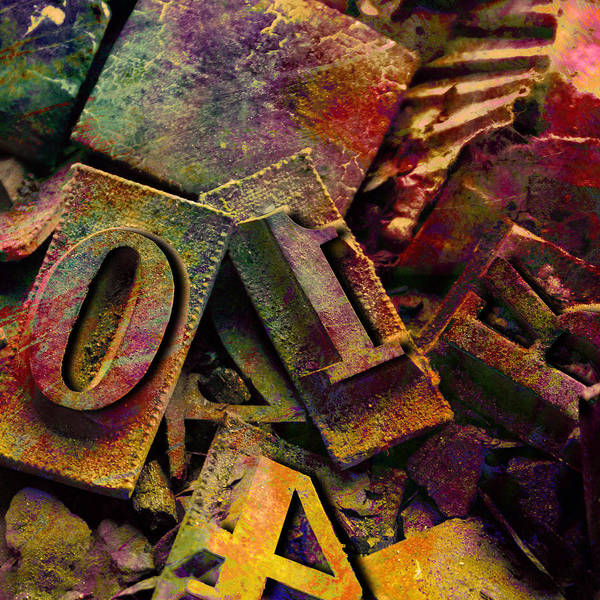 Digital Art - Hot Metal Type by Barbara Berney