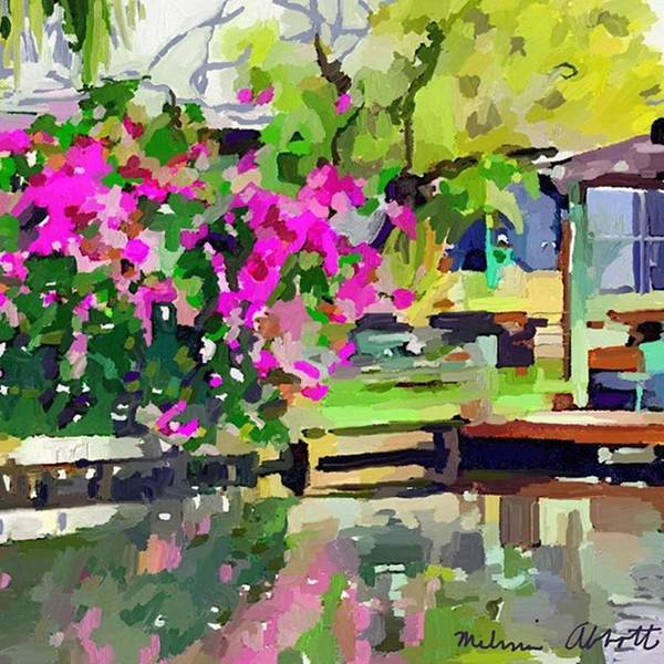 Photograph - Hot Pink Bougainvillea Flowers Are by Melissa Abbott