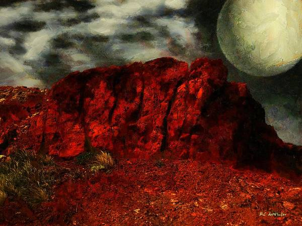 Painting - Hot Rocks by RC DeWinter