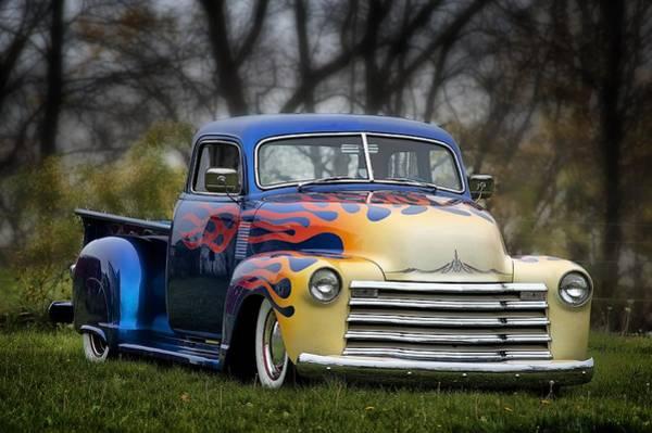 Hot Rod Truck Art Print