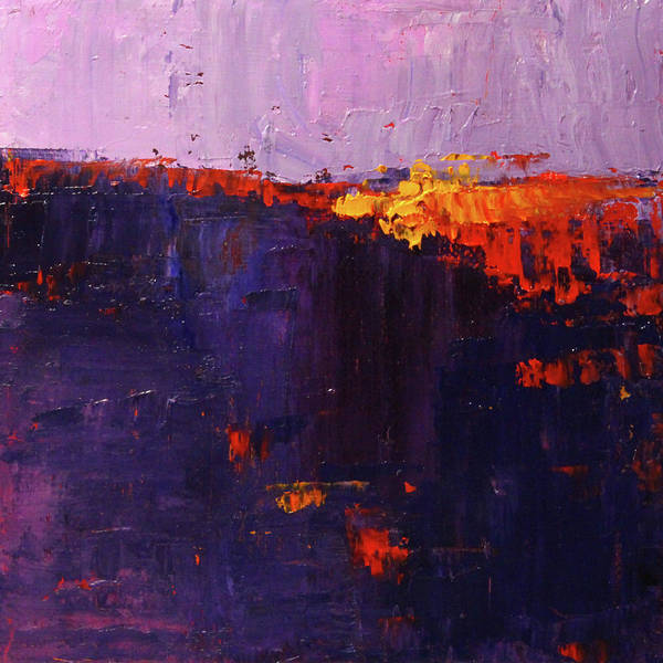 Painting - Hot Spot Abstract by Nancy Merkle