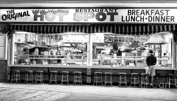 Wall Art - Photograph - Hot Spot Dining On The Wildwood Boardwalk by John Rizzuto