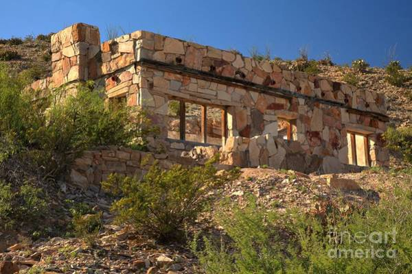 Photograph - Hot Spring Resort Ruins by Adam Jewell