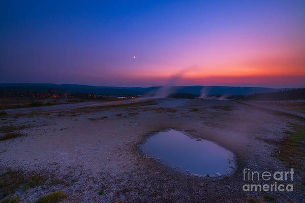 Wall Art - Photograph - Hot Spring Sunset by Michael Ver Sprill