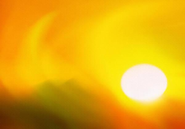 Wall Art - Photograph - Hot Summer Sun 2 by Steve Ohlsen