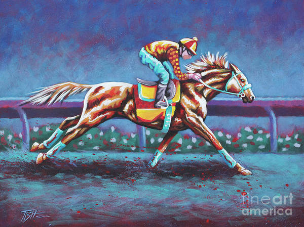 Painting - Hot Trotter by Tish Wynne
