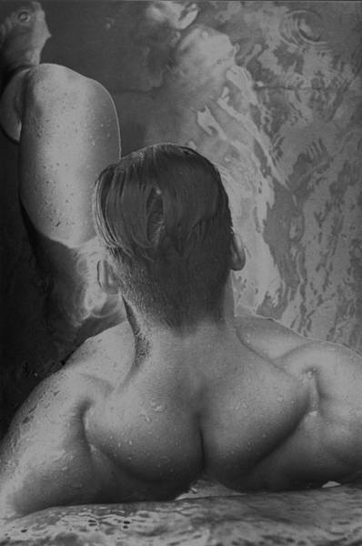 Physique Photograph - Hot Tub - Solar by Thomas Mitchell