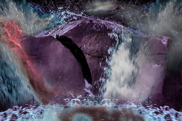 Photograph - Hot Water River Rock.... by Paul Vitko