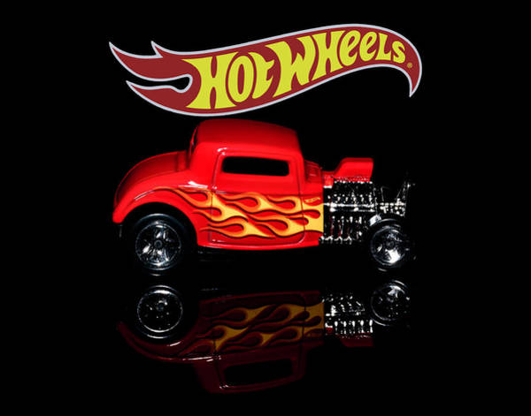 Photograph - Hot Wheels '32 Ford Hot Rod by James Sage