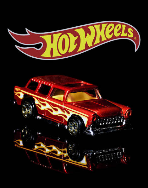 Photograph - Hot Wheels '55 Chevy Nomad 2 by James Sage