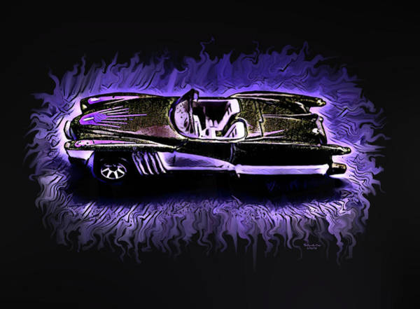 Digital Art - Hot Wheels Collection 2 by Artful Oasis