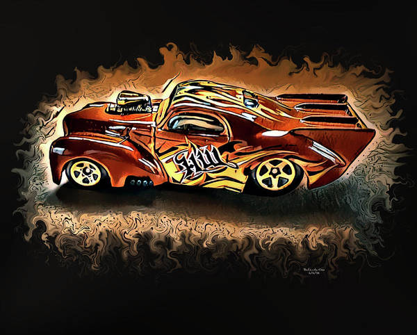 Digital Art - Hot Wheels Collection by Artful Oasis