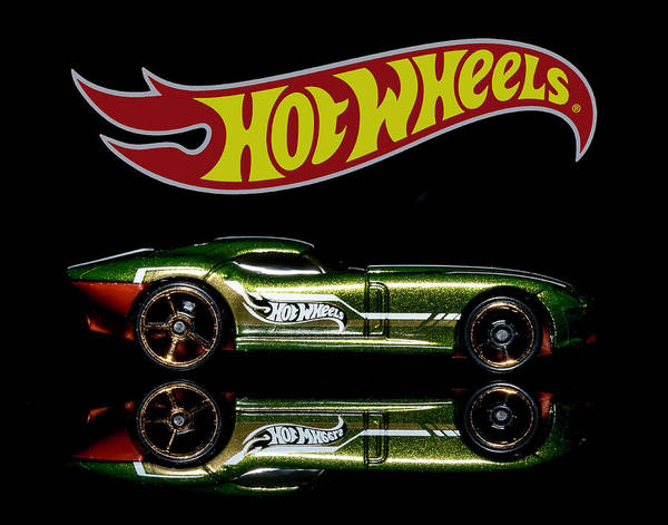 Photograph - Hot Wheels Fast Felion by James Sage