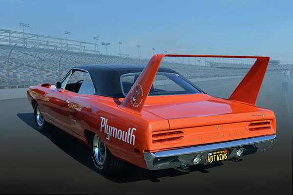 Plymouth Superbird Photograph - Hot Wing by Bill Dutting