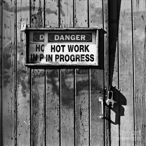 Photograph - Hot Work by Patrick M Lynch