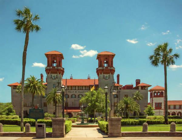 Flagler Photograph - Hotel Alcazar - St. Augustine, Florida by Mitch Spence