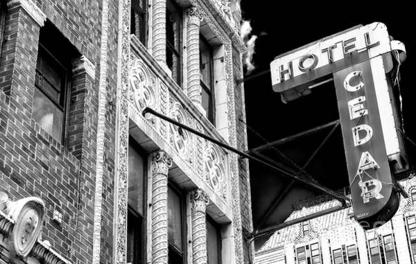 Photograph - Hotel Cedar Chicago by John Rizzuto