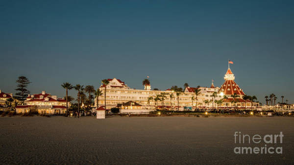 Photograph - Hotel Del Coronado Wearing Her Evening Pearls by David Levin