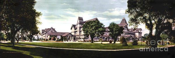 Photograph - Hotel Del Monte, Del Monte California 1906 by California Views Archives Mr Pat Hathaway Archives