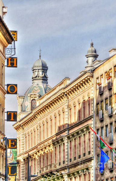 Photograph - Hotel In Budapest by Odon Czintos