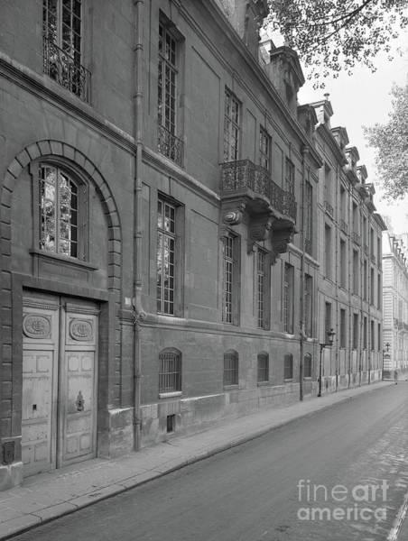 Parisian Photograph - Hotel Lauzun, Facade, 1929 by French School