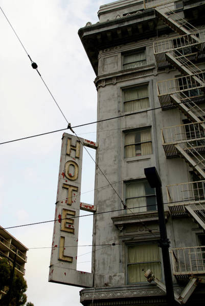 Photograph - Hotel by Linda Shafer