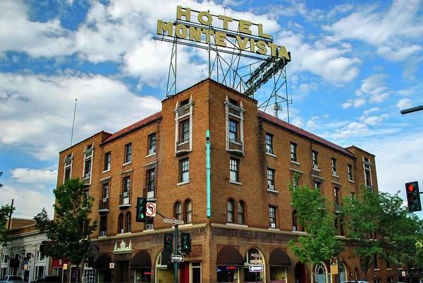 Flagstaff Photograph - Hotel Monte Vista - Flagstaff - Arizona by Gregory Ballos