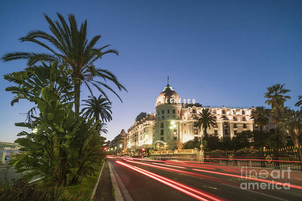 Photograph - Hotel Negresco Nice  by Juergen Held