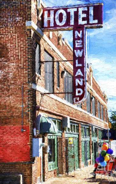 Wall Art - Photograph - Hotel Newland by Elena Nosyreva