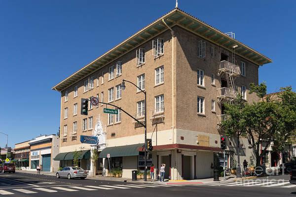 Photograph - Hotel Petaluma In Petaluma California Usa Dsc3733 by Wingsdomain Art and Photography