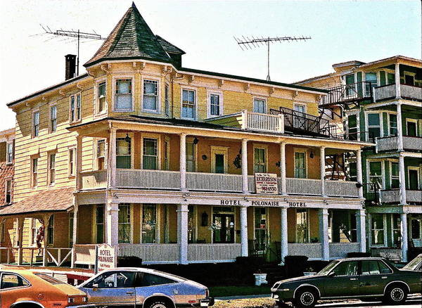 Queen Anne Style Photograph - Hotel Polonaise by Ira Shander