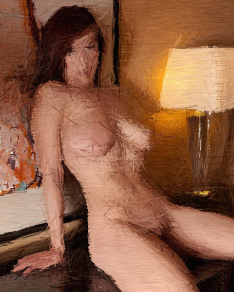 Wall Art - Painting - Hotel Room 713 by Roger Williams