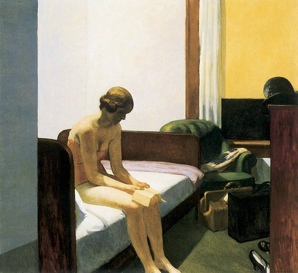 Drawers Painting - Hotel Room by Edward Hopper