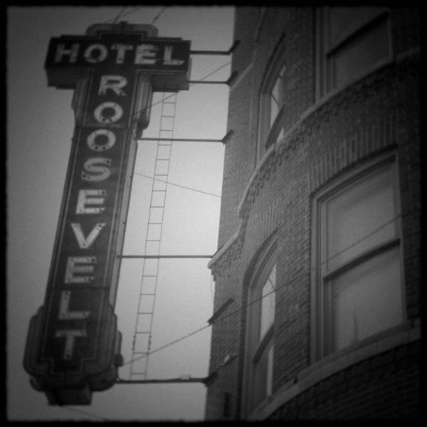Art Print featuring the photograph Hotel Roosevelt by Kyle Hanson
