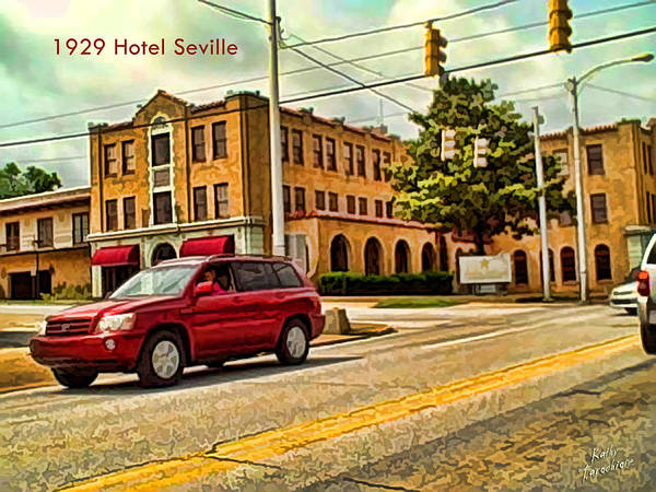 Photograph - Hotel Seville In Harrison by Kathy Tarochione