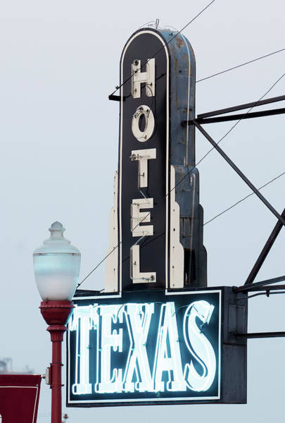 Photograph - Hotel Texas 071918 by Rospotte Photography