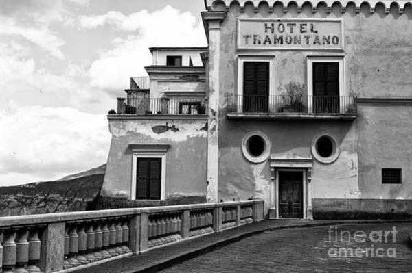 Wall Art - Photograph - Hotel Tramontano by John Rizzuto