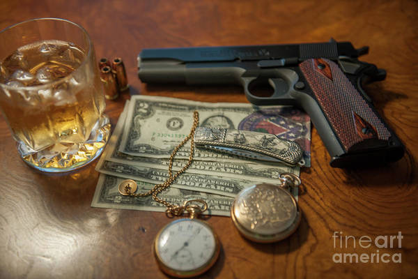 Photograph - Hotter Than A 2 Dollar Pistol by Dale Powell