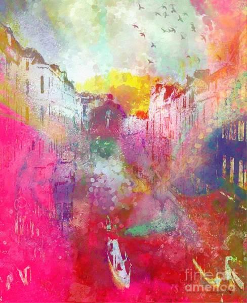 Painting - Hotty Totty In Italian Rainbows by Catherine Lott