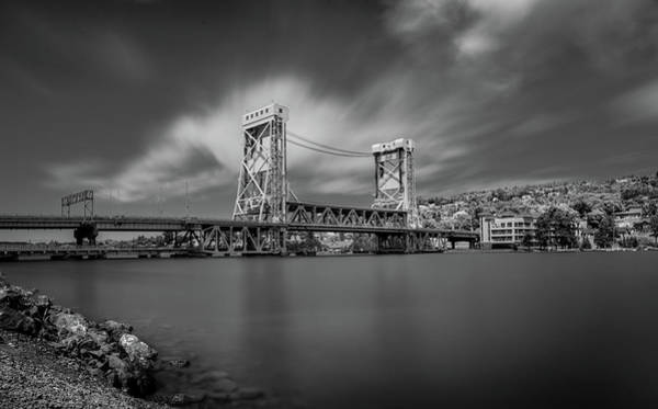 Photograph - Houghton Portage Bridge by James Howe