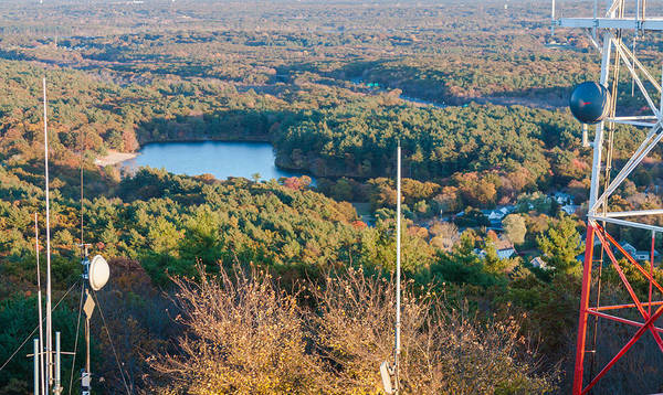 Photograph - Houghton's Pond From Great Blue Hill by Brian MacLean