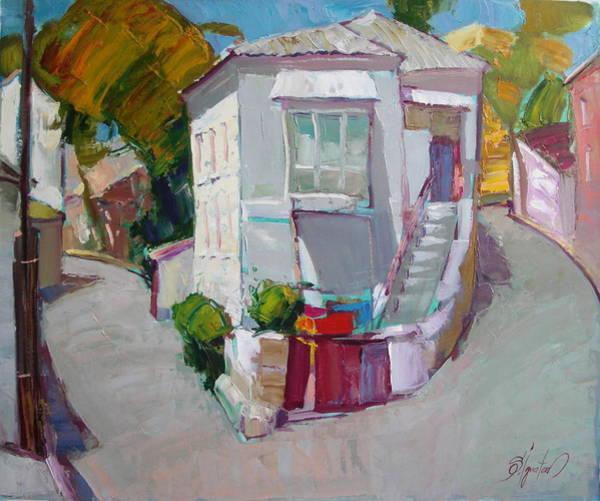 Ignatenko Painting - Hous In Crimea by Sergey Ignatenko