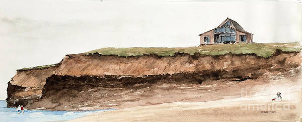 Painting - House At Pei by Monte Toon