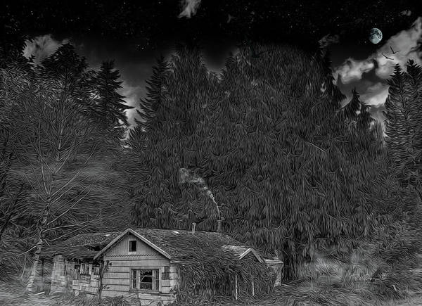Photograph - House At The End by Bill Posner