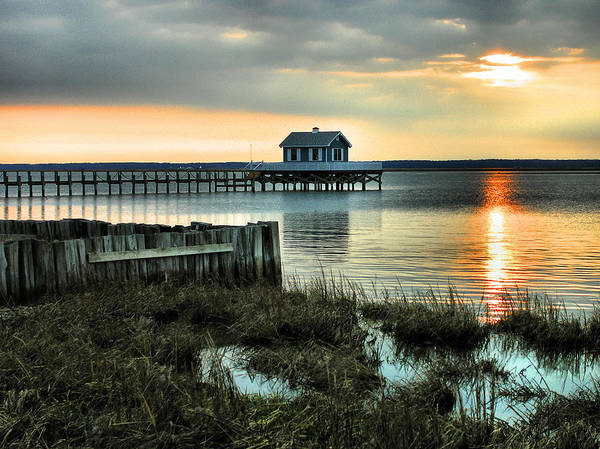 Residences Wall Art - Photograph - House At The End Of The Pier II by Steven Ainsworth