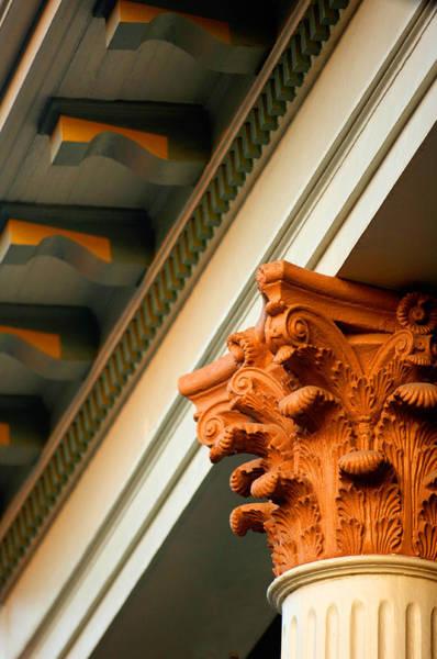 Photograph - House Column by Jill Reger