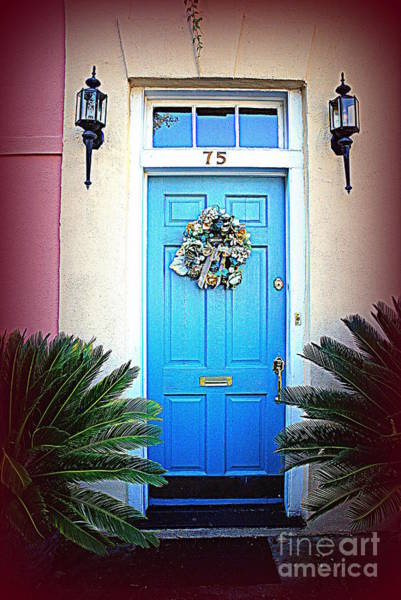 Photograph - House Door 6 In Charleston Sc  by Susanne Van Hulst
