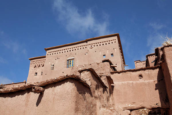 Ait Benhaddou Photograph - House In Ait Ben Haddou Fortified Village In Morocco by Tjeerd Kruse