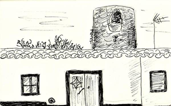 Drawing - House In Redondo by Chani Demuijlder