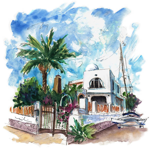 Wall Art - Painting - House In San Jose 02 by Miki De Goodaboom